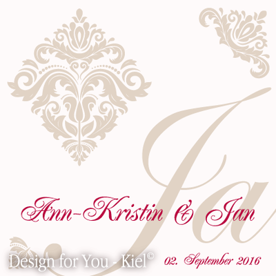 Ann-Kristin & Jan © Design for You -Kiel