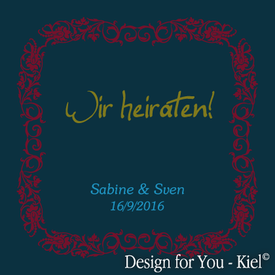 Sabine & Sven © Design for You -Kiel