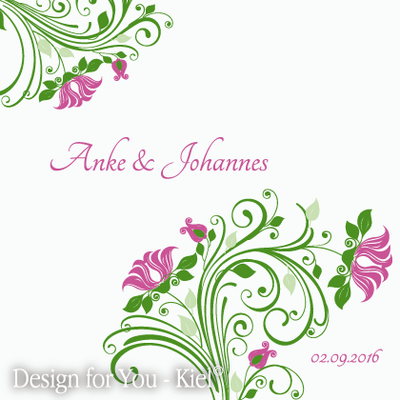 Anke & Johannes © Design for You -Kiel
