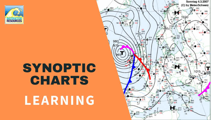 Understanding synoptic weather charts