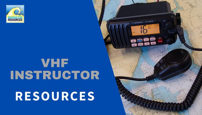 RYA VHF Instructor Resources ©www.instructorresources.co.uk
