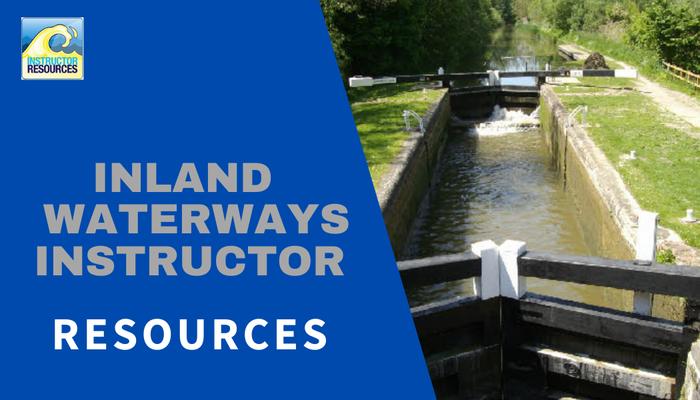 RYA Inland Waterways Instructor Resources ©www.instructorresources.co.uk