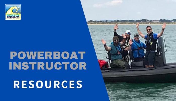RYA Powerboat Instructor Resources ©www.instructorresources.co.uk