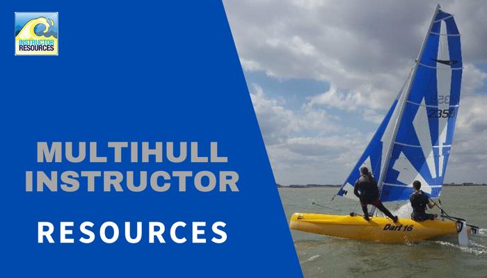 RYA Multihull Instructor Resources ©www.instructorresources.co.uk