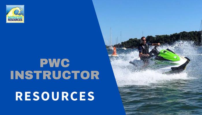 RYA PWC (jetski) Instructor Resources ©www.instructorresources.co.uk