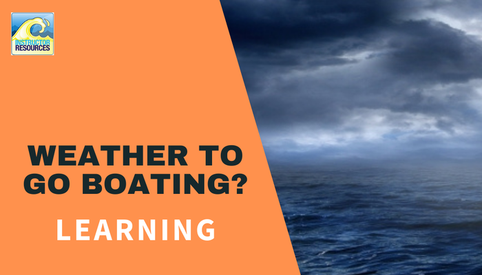 Weather to go boating?