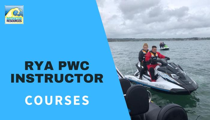 RYA PWC (jetski) Instructor Courses