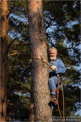 Paul Sömmer von der Naturschutzstation Woblitz