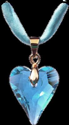 Swarovski Kristall aquamarin