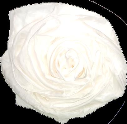 weiß reinheit Seidentuch Seidenschal bio