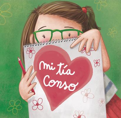 """Portada Álbum  ilustrado """"Mi tía Conso""""Editorial Mr.Momo"""