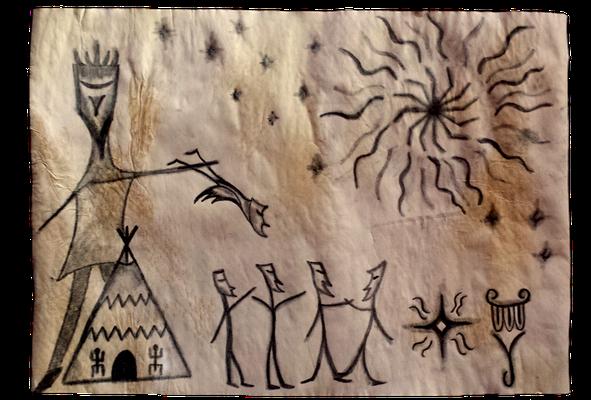 Die Indios und das Zeichen