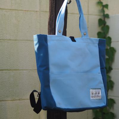 ブルー系のバッグ