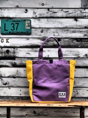 黄色と紫の組み合わせ
