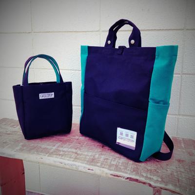 モンスターエナジー色のバッグ