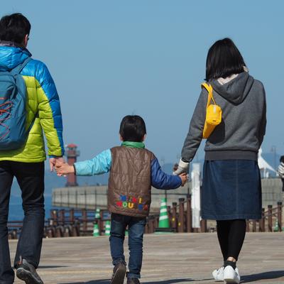親子でお散歩サンポート高松