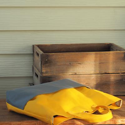 黄色のレッスンバッグ
