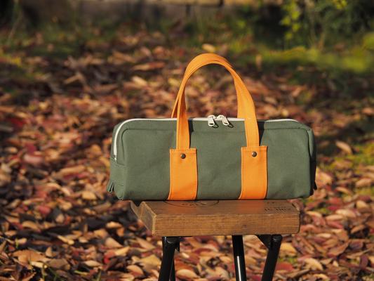 秋のシンプルバッグ