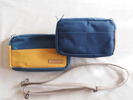 青と黄色のショルダー