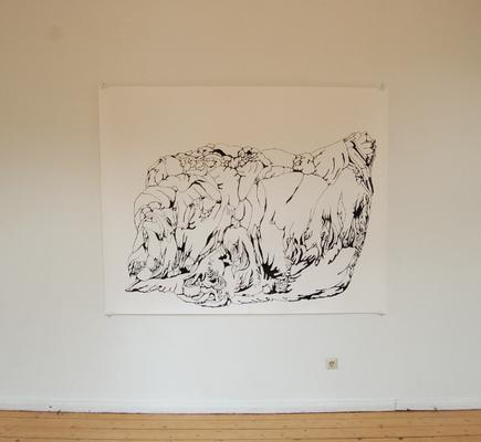Diplomausstellung Innen/Außen, Ansicht 3, Susanne Renner, 2008 (Foto: Julia Hecht)