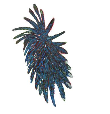 Ohne Titel, 20 x 20 cm, Aquarellfarbe auf Papier, Susanne Renner, 2016