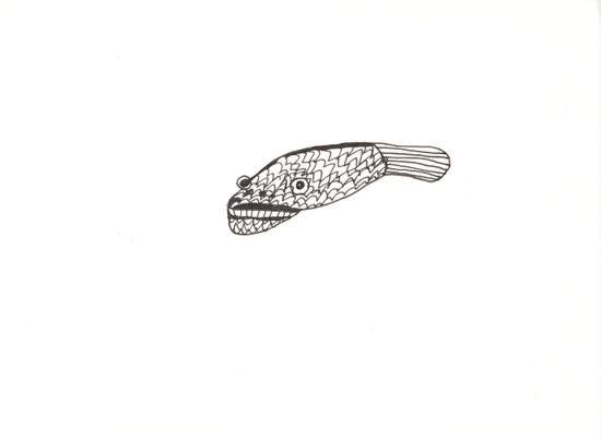 Fisch, 13 x 17,5 cm, Susanne Renner
