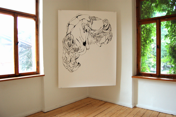 Diplomausstellung Innen/Außen, Ansicht 2, Susanne Renner, 2008 (Foto: Julia Hecht)