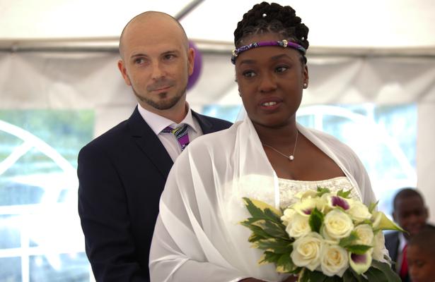 Les heureux mariés!