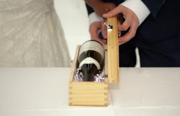 Rituel du vin scellé  Cérémonie laïque de mariage by Charlotte Vilain