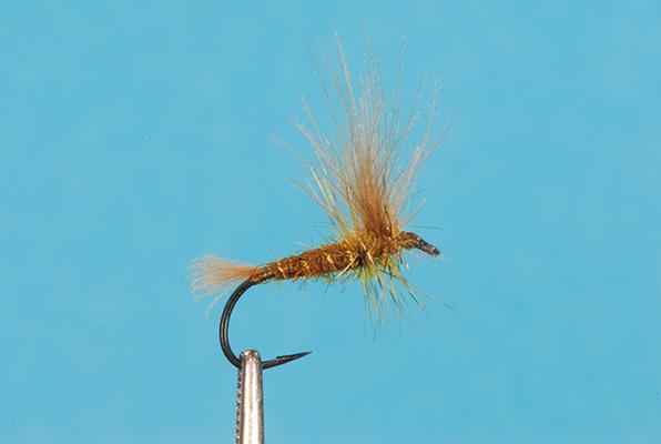 Olive Dun - Split Wing Emerger