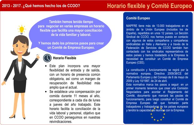 Horario Flexible y Comité Europeo