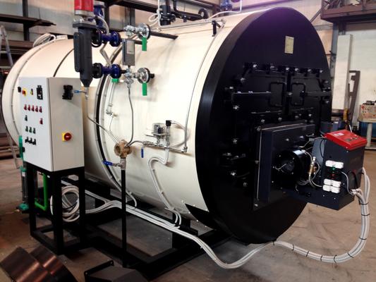 Dampfkesselanlage mit PV 1000 von Nordland Heizgeräte