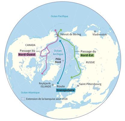 De nouvelles routes maritimes polaires