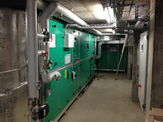 Sanierung Lüftungsanlage Hallenbad Tiefencastel