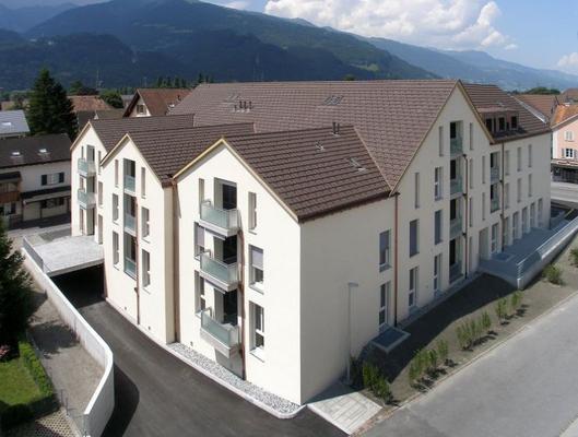 Wohnüberbauung Aeuli, Maienfeld