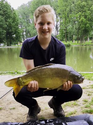 Jesse Dieteren, Vijver 3 (10-06-2021)