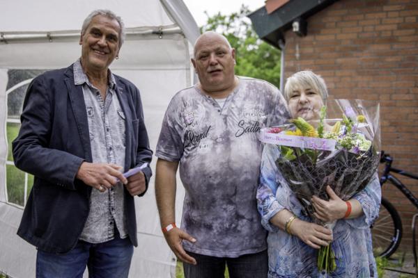 Jos van Horzen werd door wethouder John Essers onderscheiden met de gemeentespeld Beekdaelen vanwege zijn 40 jaar lidmaatschap en inzet voor de vereniging.