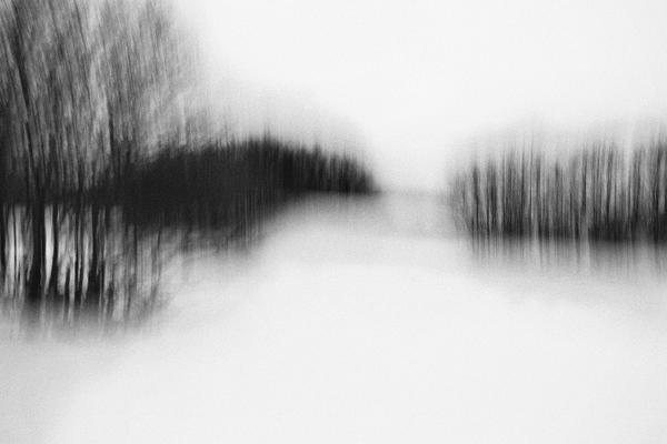"""William GUILMAIN, """"Silence"""", Photographie numérique, flou de bougé, 40x60 cm, 2016"""