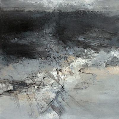 "Raymond ATTANASIO, ""18-05-15"", Huile sur toile, 60x60 cm, 2018"