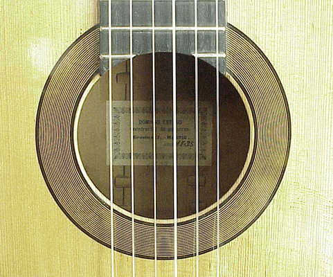 Domingo Esteso 1935 - Guitar 1 - Photo 2