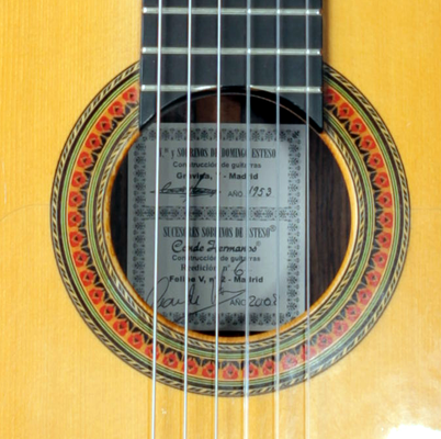 Hermanos Conde 2008 - Guitar 8 - Photo 7