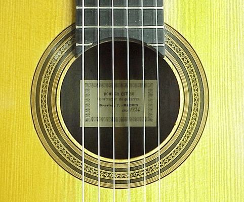Domingo Esteso 1926 - Guitar 1 - Photo 2