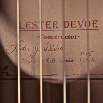 Lester Devoe 2015 - Guitar 1 - Photo 3