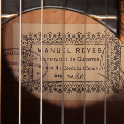 Manuel Reyes 1980 - Guitar 3 - Photo 5