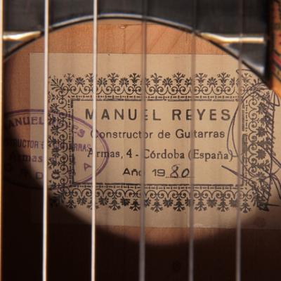 Manuel Reyes 1980 - Guitar 3 - Photo 5