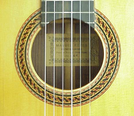 Manuel Reyes 1964 - Guitar 3 - Photo 2