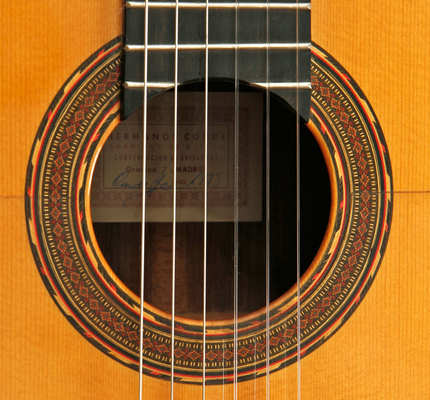 Hermanos Conde 1975 - Paco de Lucia - Rosette - Guitar 3 - Photo 13