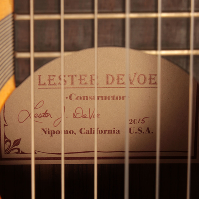 Lester Devoe 2015 - Antonio Rey - Guitar 2 - Photo 7