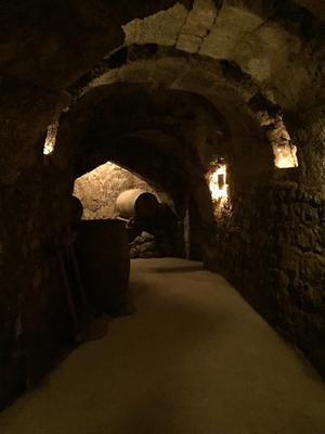 Cantina albergue Utreya, da dove partiva un passaggio segreto di 4 km che era collegato al Castello