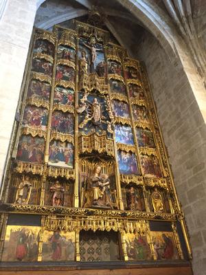Retablo Santo Domingo de la calzada